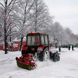 Очистка крыш от снега картинки